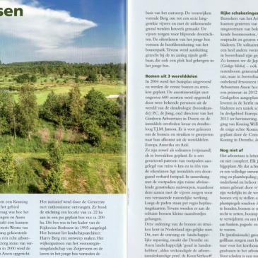 Artikel in Het Drentse Landschap