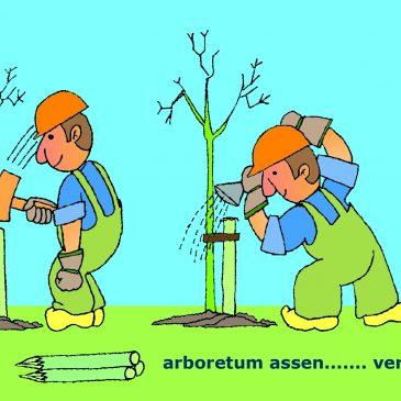 """Financiële steun voor ons project: """"Hart(d) voor Bomen"""""""