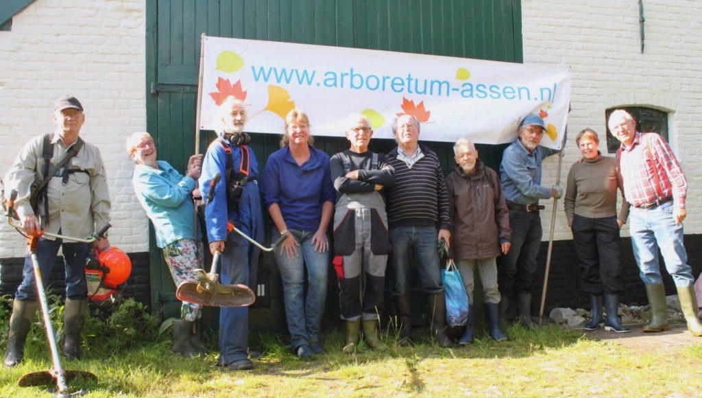 Vrijwilligers Arboretum Assen