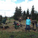 HBO stagiair Marjolein Klaver actualiseert kaarten Arboretum
