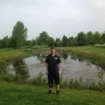MBO student Wesley Baas maakt beheerplan voor de vijverpartijen