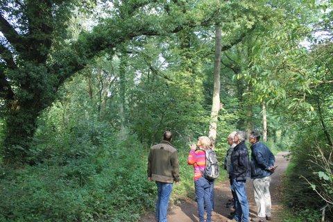 Arboretum vrijwilligers op excursie naar Twente, 22 september 2017.