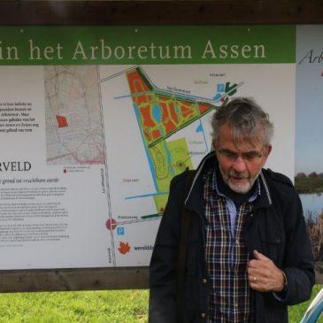 Interview met Harry Berg, 14 jan. 2018: Vrijwilligerswerk in het Arboretum in Assen, door Carlijn Berg: leerling van het Augustinus College in Groningen, klas 1G.