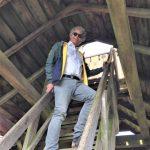 Bezoek wethouder Bob Bergsma aan het Arboretum Assen op 29 mei 2020