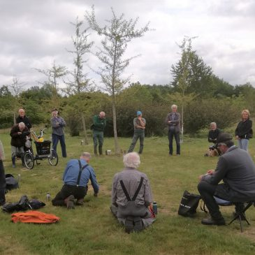Inwijding boombordjes ter herdenking aan Ivo Baurichter