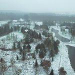 Winter 2021 in het Arboretum Assen